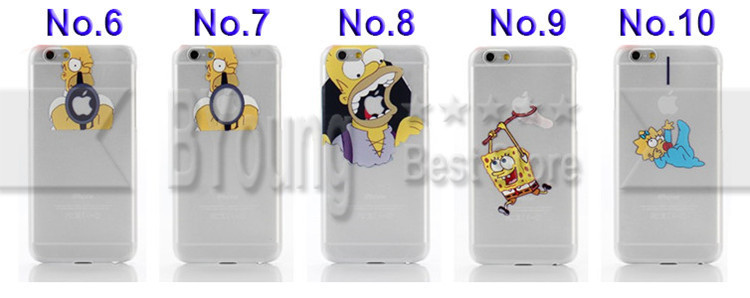 Iphone 6 Case os Simpsons For Apple Iphone 6 Case