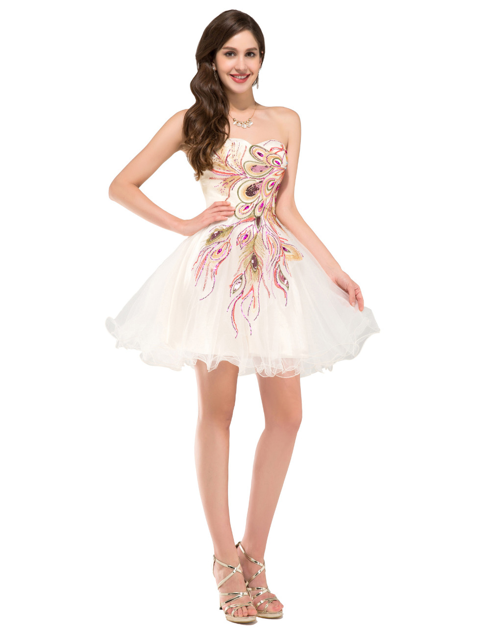 one shoulder homecoming dresses under 50