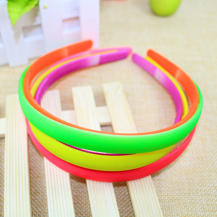 Design 2015 Children Hairband Candy Color Headband Kids Fashion Solid Hair Accessories - GoodLuck Jewelry store