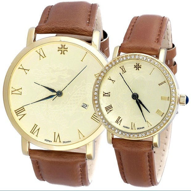 Original luxury Korea brand Authentic JULIUS Lover's Men's Watch Fashion Dragon and Phoenix Retro Style JA-585L free shipping