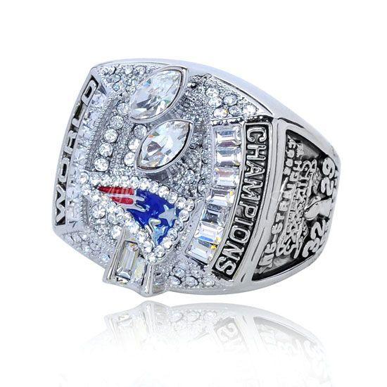 NFL 2003 National Football League New England Patriots Super Bowl Ring Tom Brady Championship Relica - China Moluss Co,.LTD store