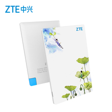 ZTE mobile power bank 2550mAh, style Portable USB External Battery Charger original brand powerbank 2015 snis festival gift item(China (Mainland))