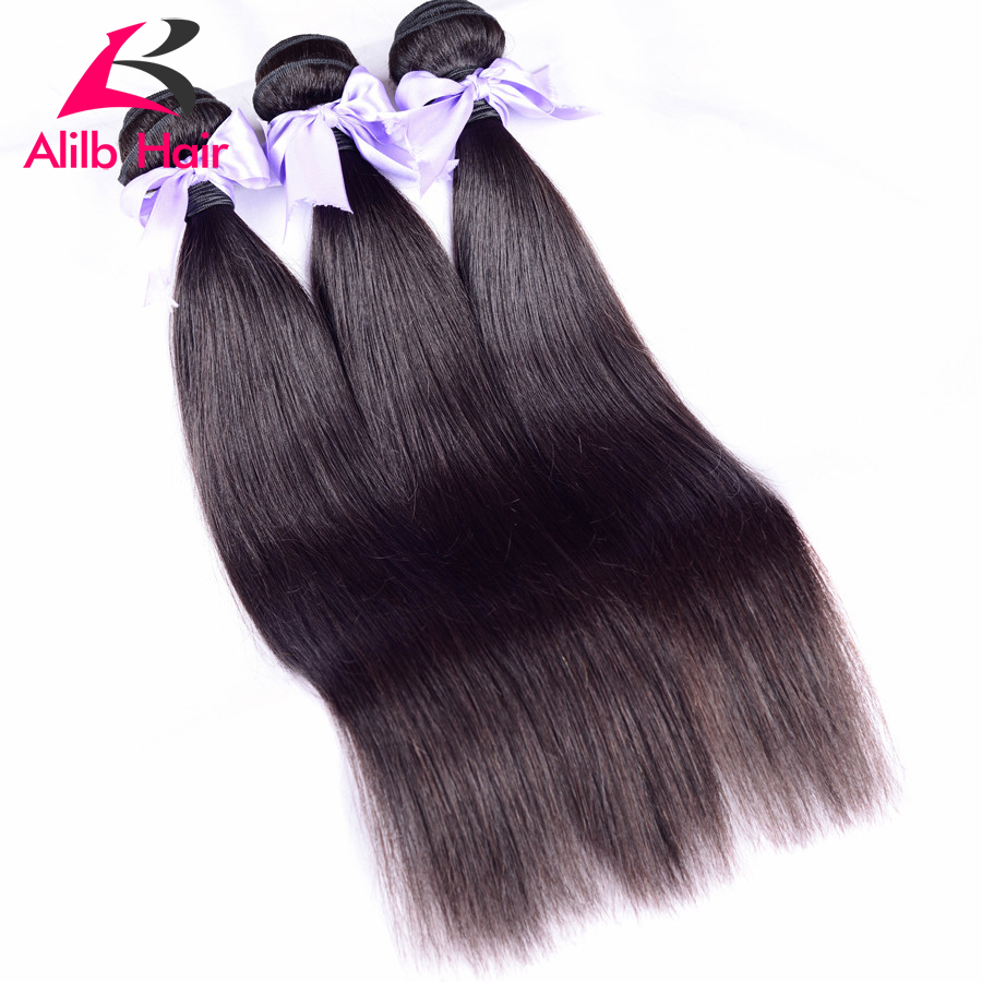5A Grade Malaysian Straight Hair Unprocessed Malaysian Virgin Hair Straight 3 pcs free shipping  cheap human hair 100g bundles