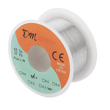 Buy Welding Iron Wire Reel 50g FLUX 1.8% 0.5/0.6/0.8/1mm 63/37 Tin Lead Line Rosin Core Flux Solder Soldering Wire Roll for $2.89 in AliExpress store