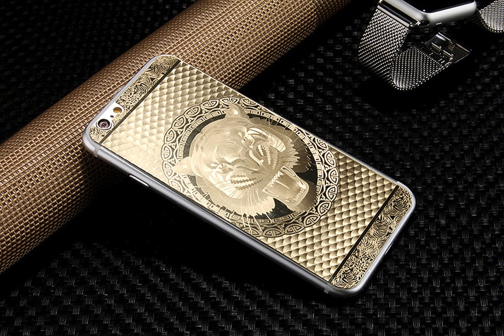 9h 0.3mm 2pcs Front+Back Luxury Gold 3D Painting Full Cover Color Tempered Glass Case for Iphone 5 5S 5SE 6 6S Screen Protector