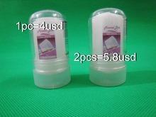 Freies verschiffen für 2 stücke 60g alum stick, deodorant stick, antitranspirant stick, alaun deodorant, tawas stick, kristall deo(China (Mainland))