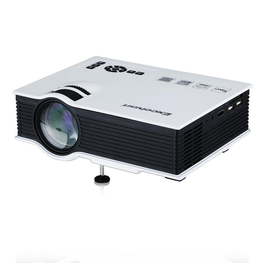 UC40 800 Lumens Portable Mini LED Projector Multimedia Home Cinema Theater 800*480RGB USB/AV/SD/HDMI 3.5mm Audio out US Standard(China (Mainland))