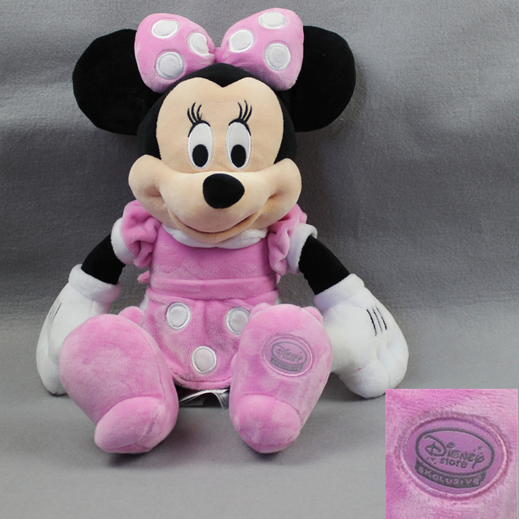 Hot sale High Lovely Mickey Minnie mouse Donald Daisy Duck Googy PlutoDog pelucia plush stuffed doll kids soft toys gift