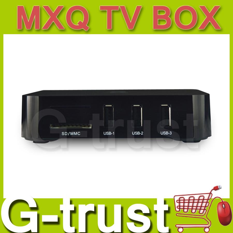 MXQ S805 MXQ TV Box Amlogic S805 Quad Core Smart TV Media Player 1G/8G HDMI H.265 1080P XBMC Android 4.4.2 50pcs/lot free fedex(China (Mainland))
