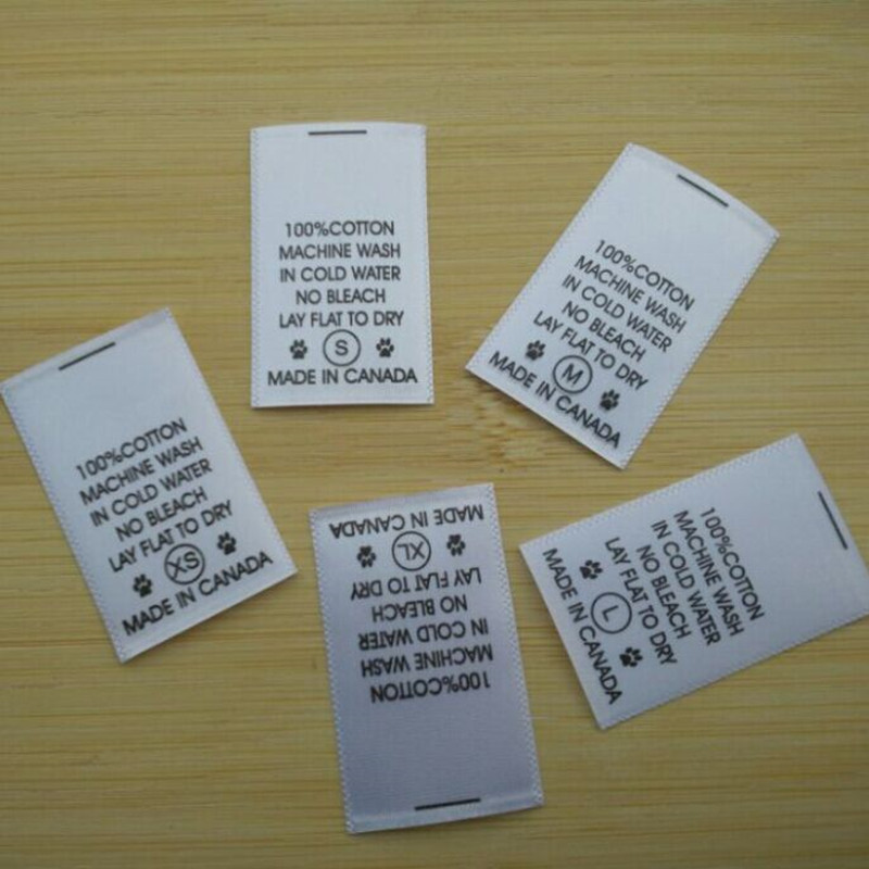 Popular washing instructions buy cheap washing for Get clothing tags made