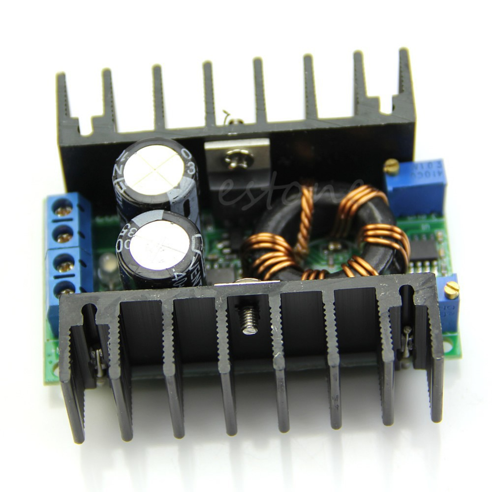DC-DC LED Constant Current Charging Booster Module CC CV Laptop Car Power Supply H02