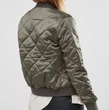 2016 Autumn fashion streetwear Army Green baseball jacket women basic coats Varsity Jacket chaquetas mujer jaqueta feminina