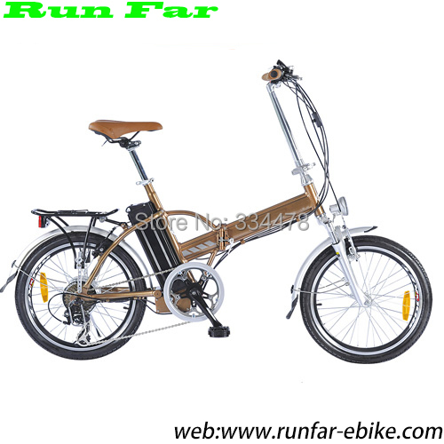 2015 hot selling 36V 250W run far folding electric bicycle professional manufacturer - Run Far Electric Bicycle Solution store