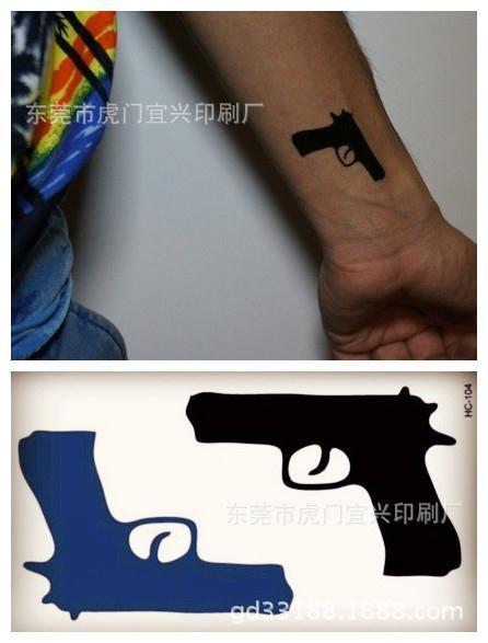 Временные татуировки из Китая