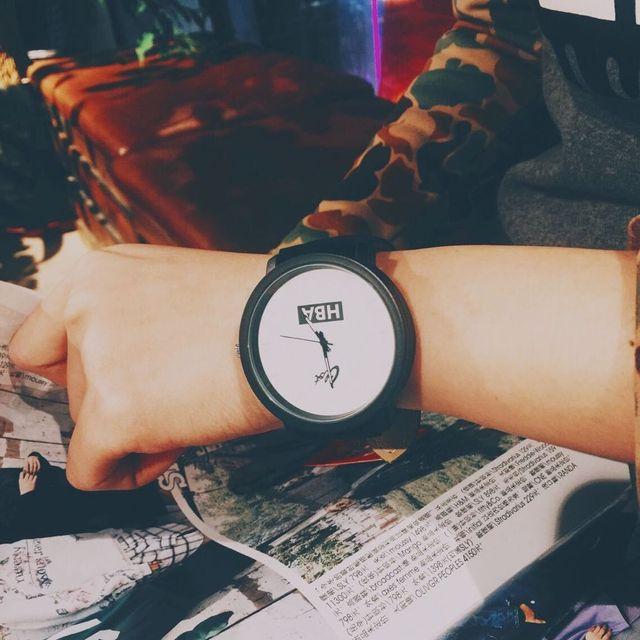 Zegarek sportowy HBA minimalistyczny dwa kolory