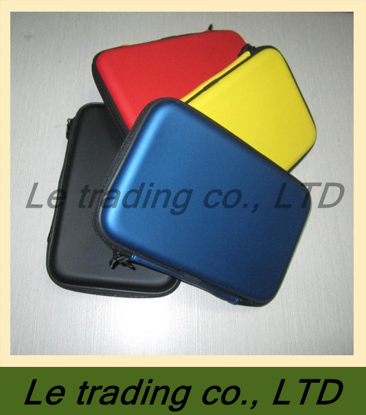 Free shipping, leather case speaker for 7 inch tablet pc, multi color