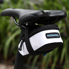 Portable Anti-slip Zip Bicycle Bike Saddle Back Seat Bag Outdoor Cycling Bicycle Tail Saddle Bags Pouch BHU2