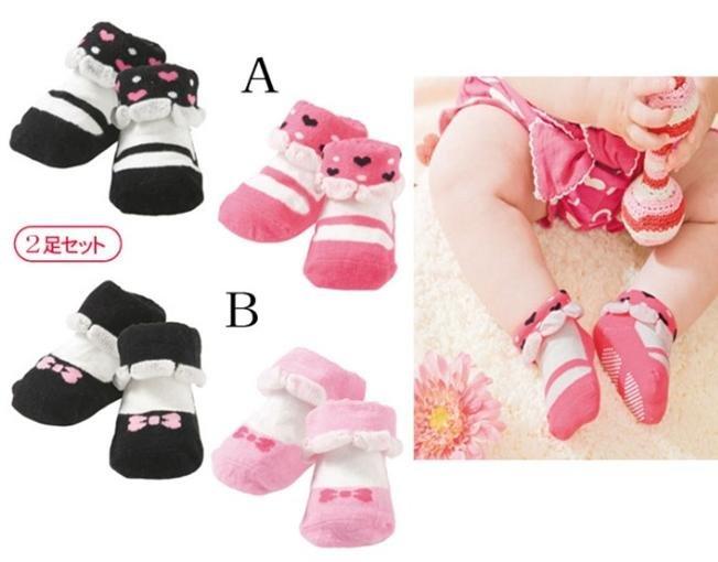 Wholesale baby socks anti skip socks spot design girls