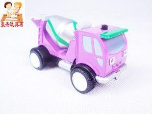 Babri series cement tanker plain alloy car model