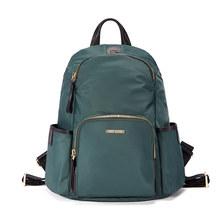Mini casa anti roubo mochilas para as mulheres de viagem à prova dwaterproof água saco de náilon mochila feminina zíper design mochila escolar volta pacote(China)