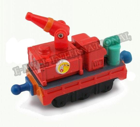 Chuggington Diecast train --Fire Truck Brand New Alloy Metal Loose Train Model Gifts Classic Toys Children - ESEN store