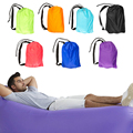 100 Waterproof 9 Colors Useful Air Sofa Sleeping Bag Fast Inflatable Camping Beach Sofa Lounger Bed