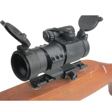 Wholesale Telescopic Sights Red / Green Dot Scope Light Changing High Quality Gun sight Laser sight Free Shipping