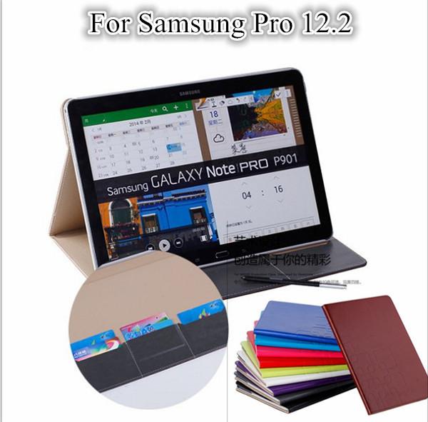 tab pro 12 2 flip smart cover case for samsung galaxy note. Black Bedroom Furniture Sets. Home Design Ideas