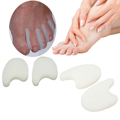 Toe separator Silicone Gel Toe Bunion Corns Blisters Foot Care Pain Relief Toes Thumb Protect Orthotics