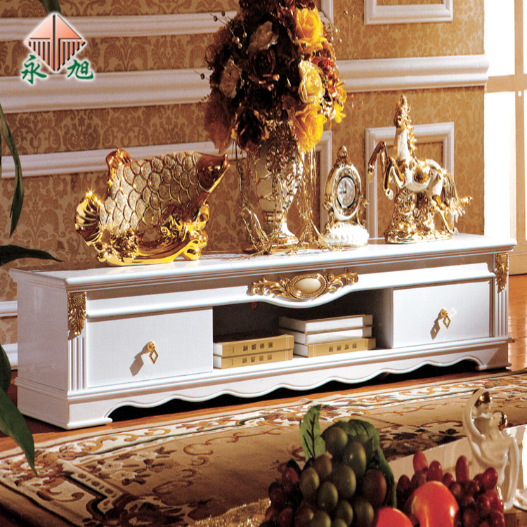 Furniture series tv cabinet fashion white fashion white tv Every light cabinet 3028 1.8 meters(China (Mainland))