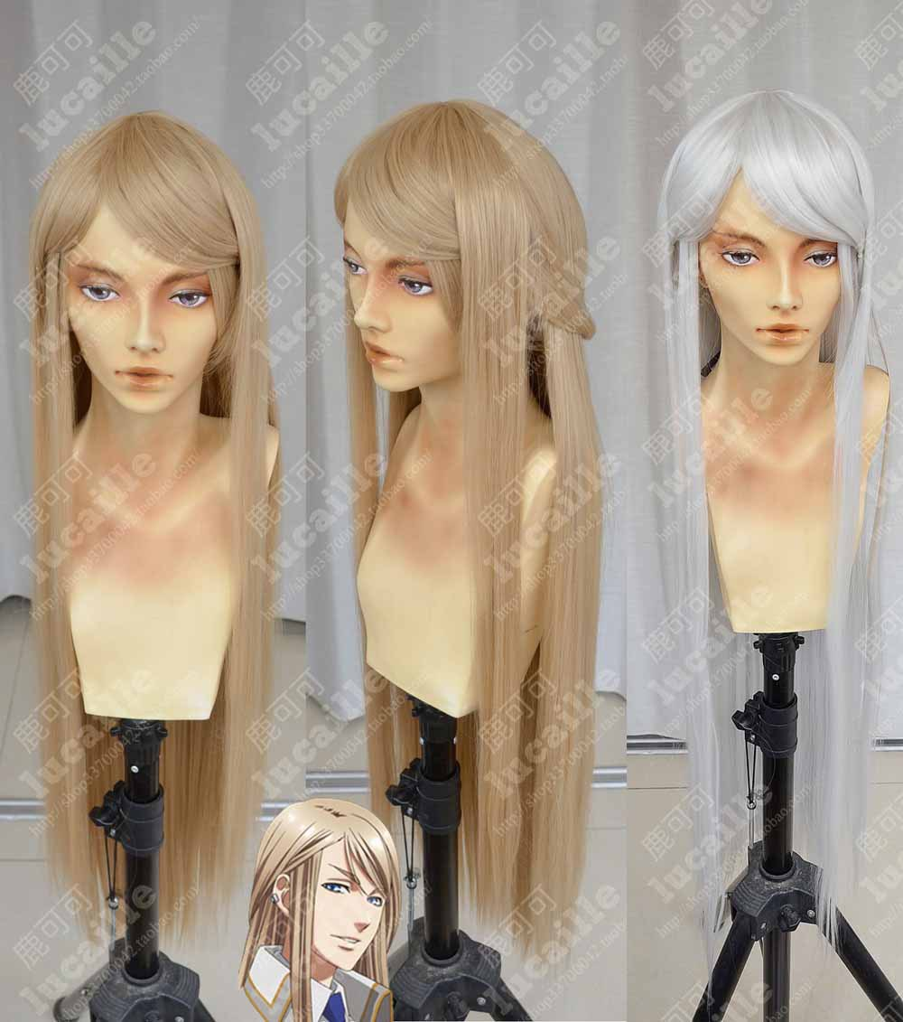 Free Shipping New Arrivel Cosplay Wig Kamigami no Asobi: Ludere deorum Balder Hringhorni Apotheosis 100cm<br><br>Aliexpress
