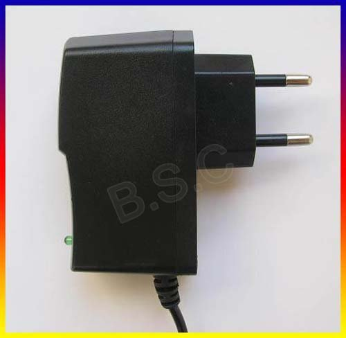 POWER SUPPLY ADAPTER EU Plug 5V 1A 1000mA AC/DC +Free shipping