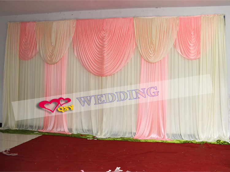 wedding supplies personalized wedding party decoration fabric backdrop ...