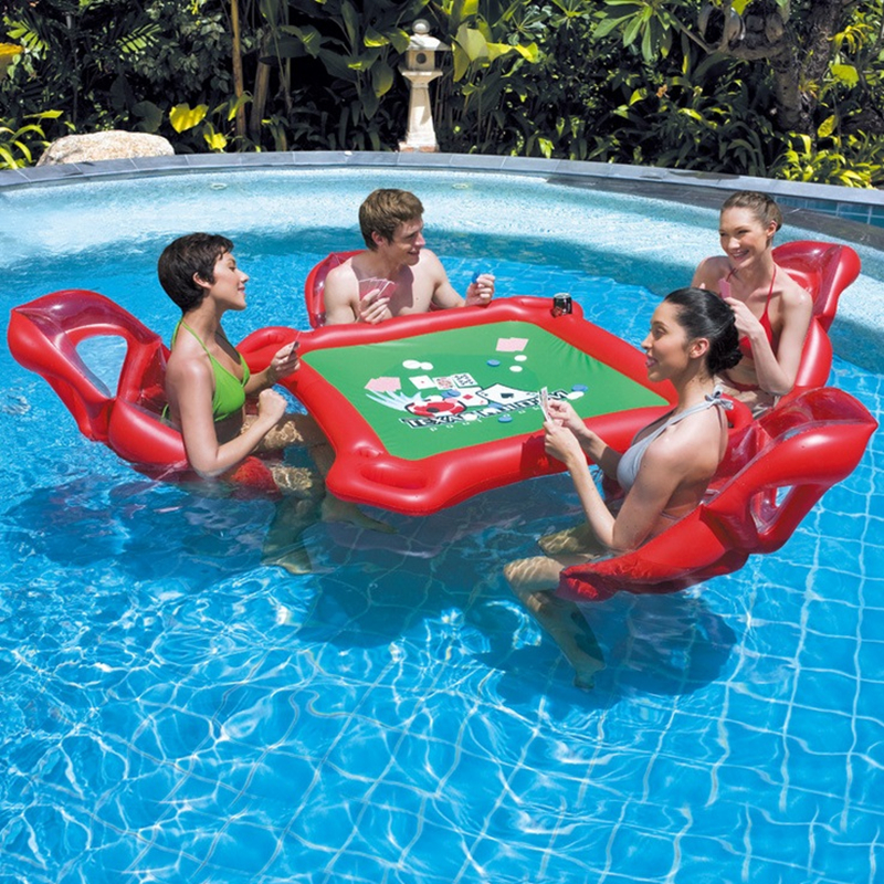 floating poker table