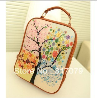 2013 fashion candy color backpack vintage fashion student school bag fashion women's handbag bag