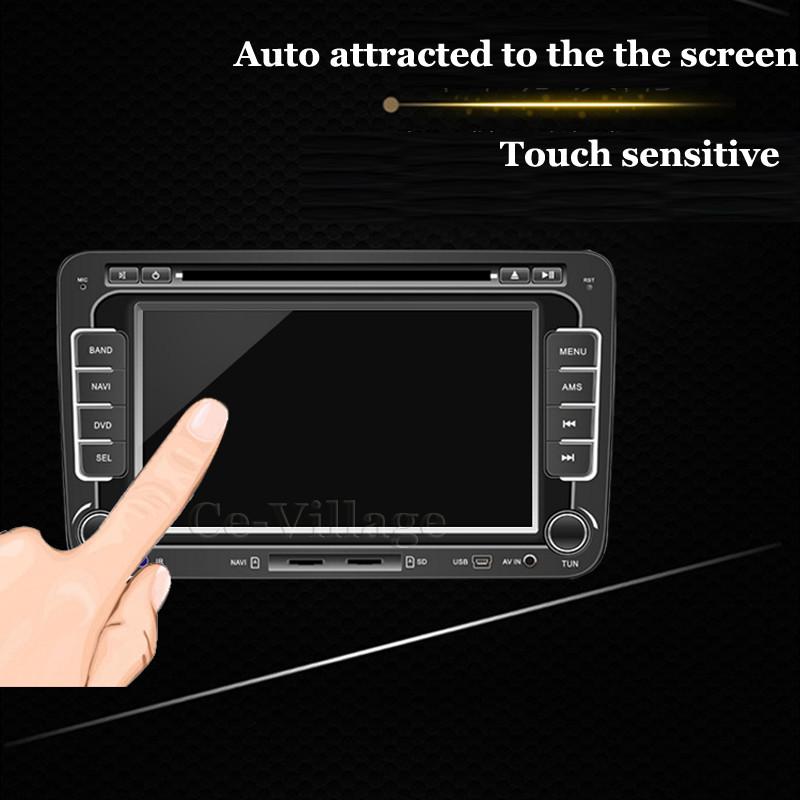 152*85/175*99/152*91/175*97 LCD Guard for Hyundai IX25 IX35 Car GPS PDA MP4 Video DVD 0.26mm 9H Tempered Glass Screen Protector(China (Mainland))