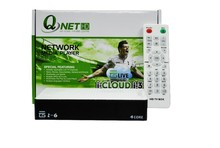 2014 Full HD 1080P Set Top Box Support P2P Streaming, Qnet Network Player Arabic IPTV Box HD FIFA14, Free Shipping