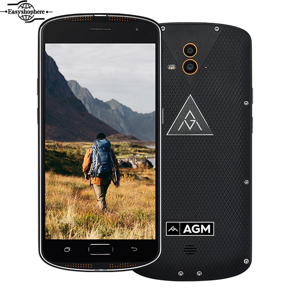 "AGM X1 IP68 Waterproof Phone 5.5 "" Qualcom Snapdragon 617 Octa Core 4GB RAM 64GB ROM 5400mAh Quick Charge Fingerprint Smartphone(China (Mainland))"