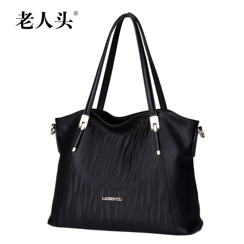 LAORENTOU Top quality genuine leather women bag  famous brands fashion women handbags shoulder Wild casual cowhide bag<br><br>Aliexpress