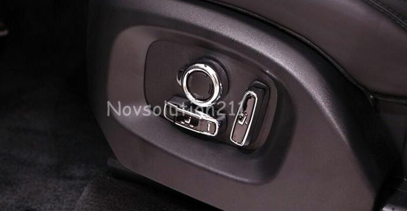 Купить Автомобиль 8 шт. Декор Регулировки Сиденья Крышка Накладка Для Range Rover Evoque 2016