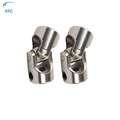 Stainless Steel Universal Joint Coupling Shaft 4MM to 4MM Motor Connector for RC Model Boat