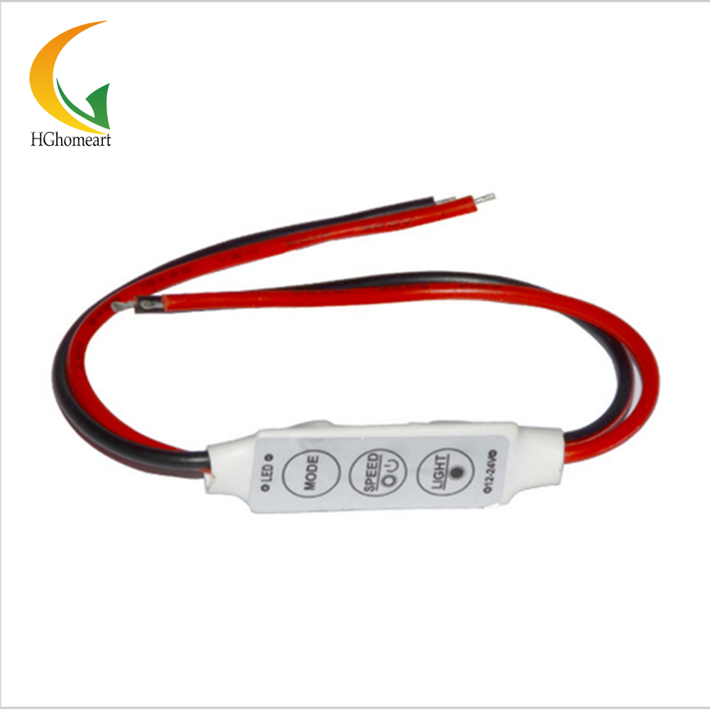 with LED switch dimmer for led dimmable switch for LED strip Flashing for 3528/5050/5630 /5730 LED strip 3 keys dimmer 12v(China (Mainland))