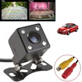 Parktronic Car Rear View Camera Waterproof HD CCD 4 LED Night Vision Rear View Camera Universal