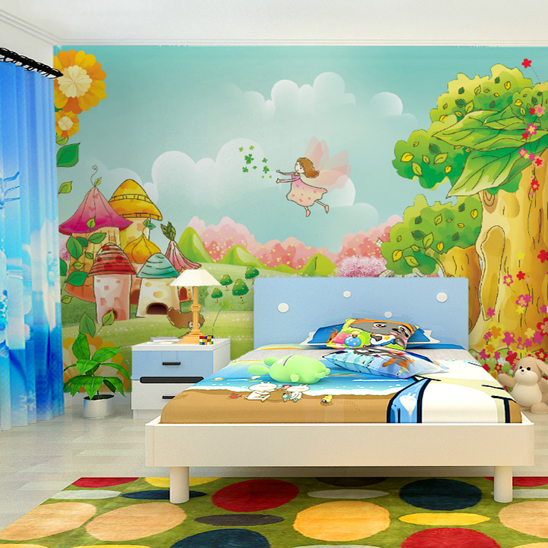 Painted Wall Murals For Kids Diy Wall Murals Modern