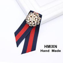 Tessuto Vintage Bow Spille per Le Donne Del Collo Tie Importato Materiale di Cerimonia Nuziale Del Partito Accessori di Alta Qualità Accessori di Abbigliamento(China)