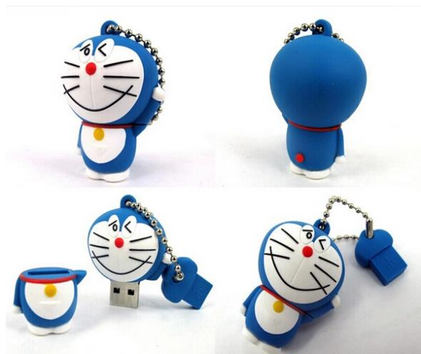 Hot sale Super mini lovely cat USB 2.0 Flash Drives thumb pendrive memory stick u disk High speed/ wholesale/1GB-64GB S2(China (Mainland))