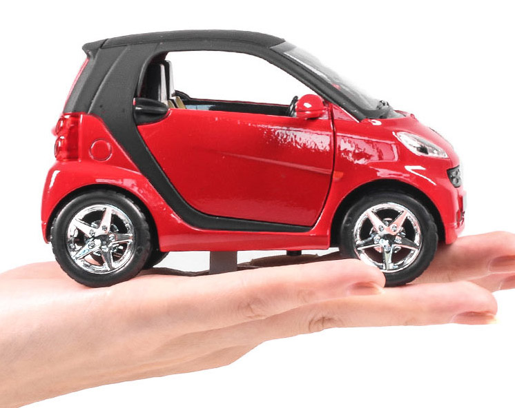 1:32 Diecast Mercedes Benz Smart Collection Model Baby Toy Car With Pull Back Function Openable Doors As Kids Gift(China (Mainland))