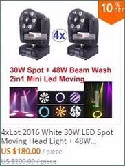 DHL Sharpy Zoom Bee Eye LED Beam Wash Moving Head Light Cree Led Lamp 4in1 RGBW 19x15W Professional Strobe Disco Lighting