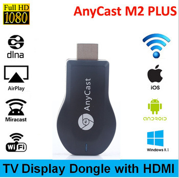Anycast TV Stick Miracast Wifi Smart Dongle DLNA Airplay HDMI 1080P Dongle Receiver Support Mac iOS Android(China (Mainland))