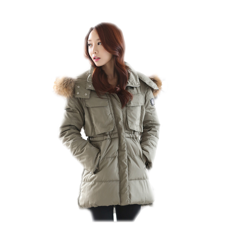 Wholesale Women Winter Warm Long Jacket